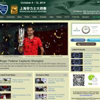 フェデラー優勝の上海ロレックスマスターズ2014を、ホットショット動画で振り返る